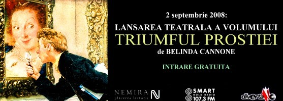 """Lansare teatrala """"Triumful prostiei"""""""