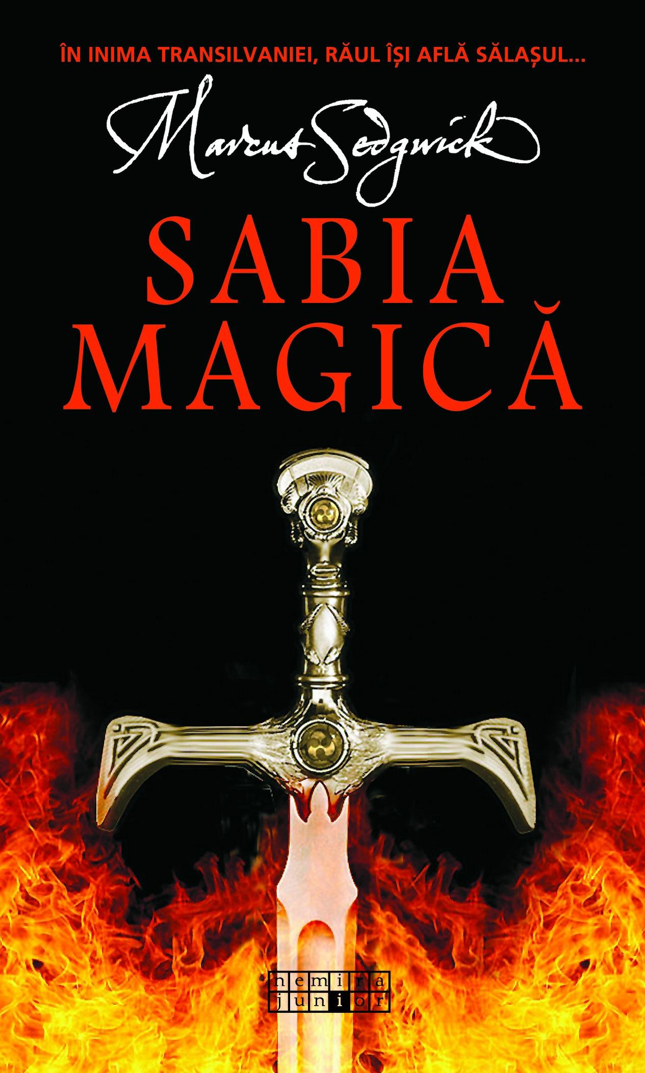 """În curând: Marcus Sedgwick – """"Sabia magică"""""""