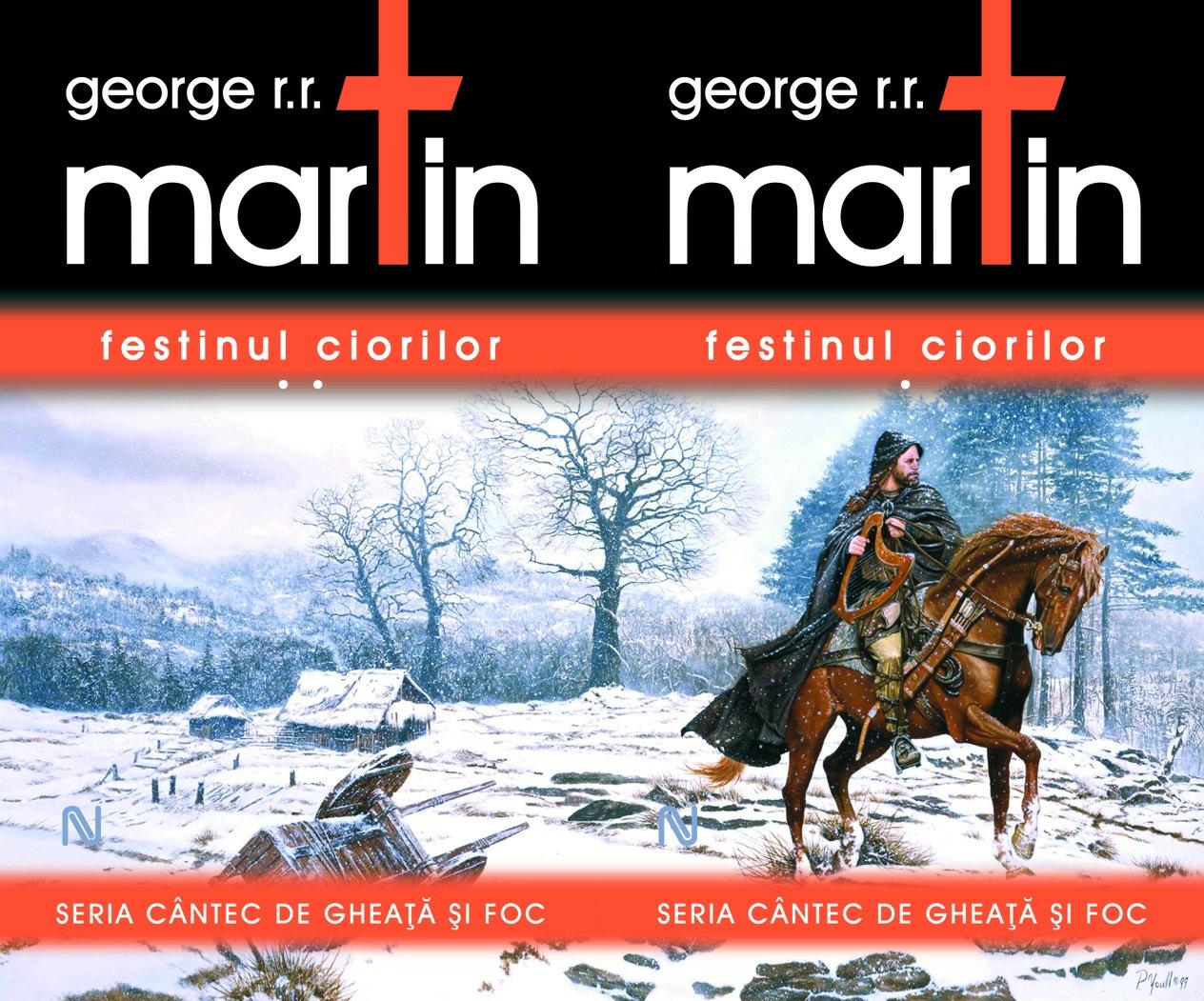 Noutăţi Gaudeamus (12): George R.R. Martin – Festinul ciorilor