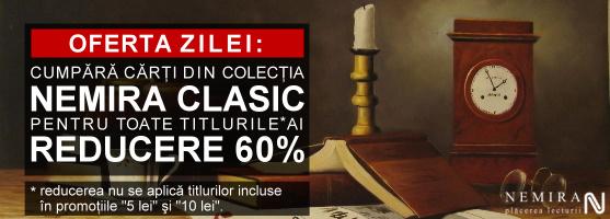Oferta zilei: 60% reducere la colecţia Nemira Clasic