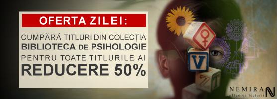Reducere de 50% la Biblioteca de Psihologie