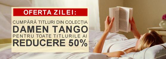 50% reducere la orice carte din colecţia Damen Tango