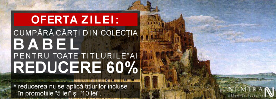 60% reducere la cărţile din colecţia Babel