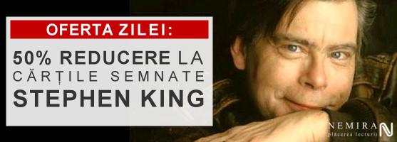 Stephen King, 50% reducere la oferta zilei