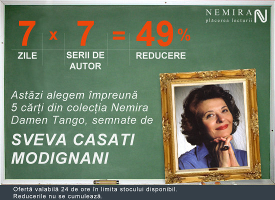 Oferta 7×7 = 49% reducere. Sveva Casati Modignani
