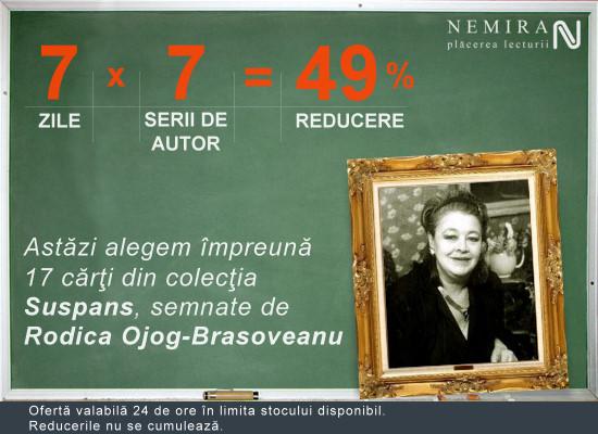 Rodica Ojog-Braşoveanu, 49% reducere