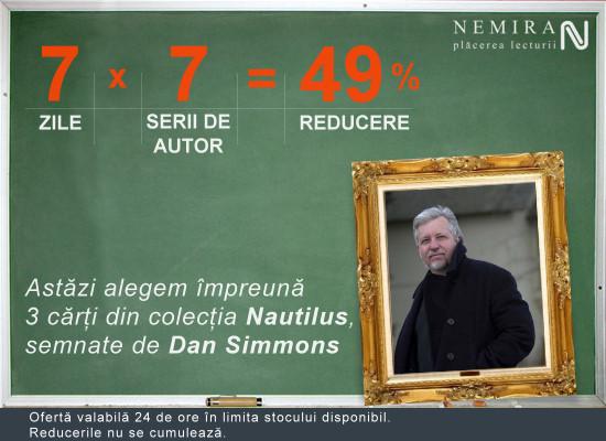 Dan Simmons, 49% reducere