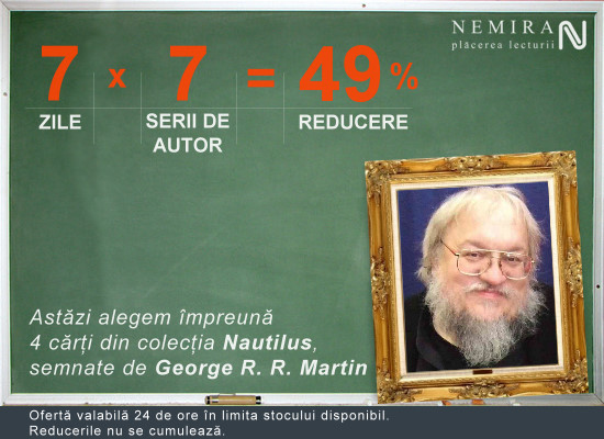 George R.R. Martin, 49% reducere