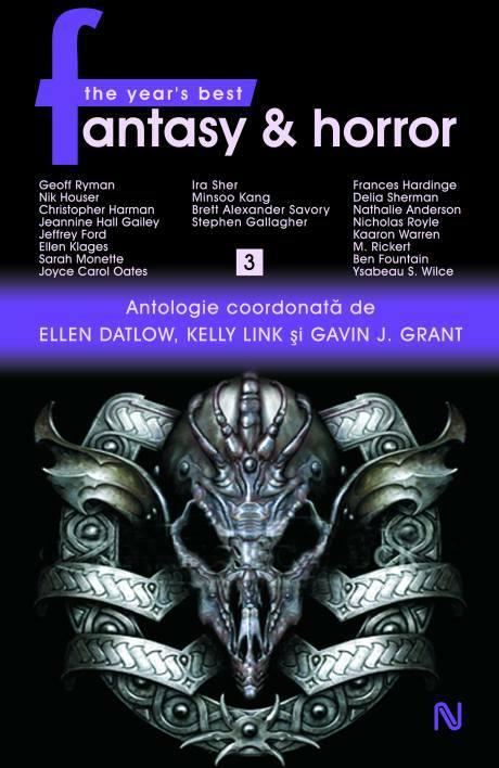 Noutăţi BookFest 2010 (5): Ellen Datlow (ed.) – The Year's Best Fantasy and Horror, vol. 3