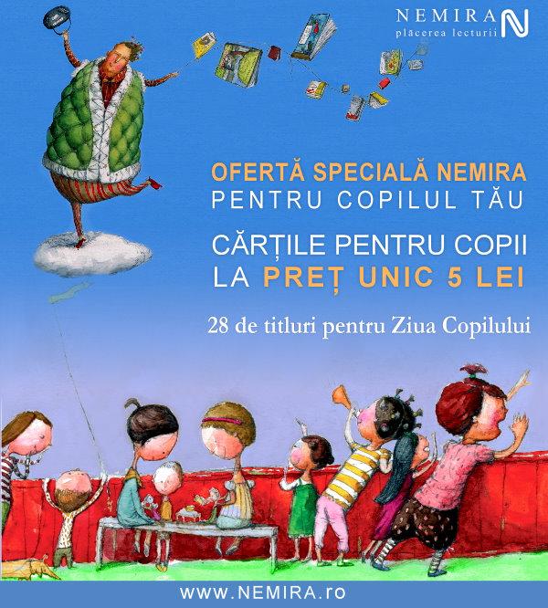 Nemira Junior şi cărţile pentru copii la promoţie