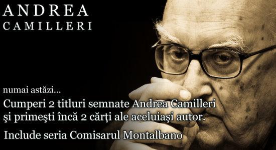 Seria Andrea Camilieri, in oferta zilei