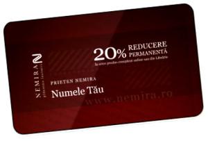 Cardul Prieten Nemira