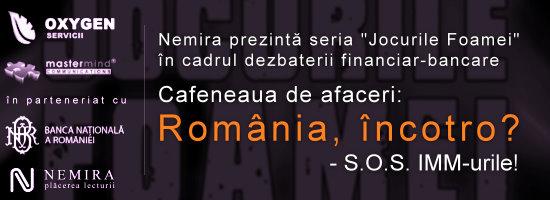 """Cafeneaua de afaceri – """"România, încotro"""""""