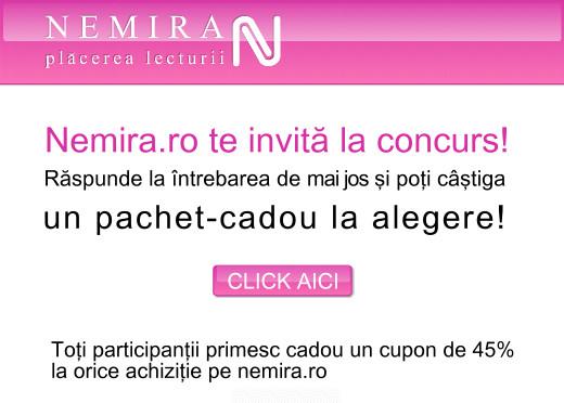 Un pachet de carti, premiu la Concursul Nemira