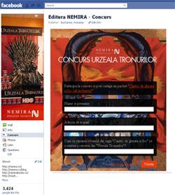 Facebook se confruntă cu un nou concurs Nemira.ro!