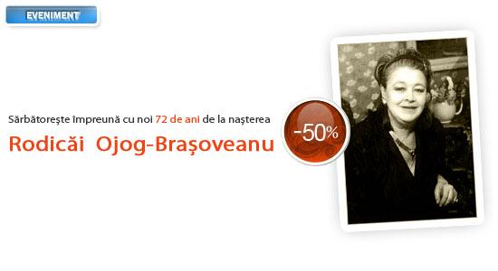 La mulți ani, Rodica Ojog-Brașoveanu!