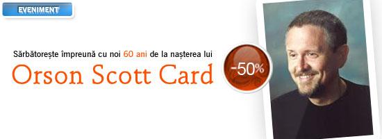 La mulți ani, Orson Scott Card!