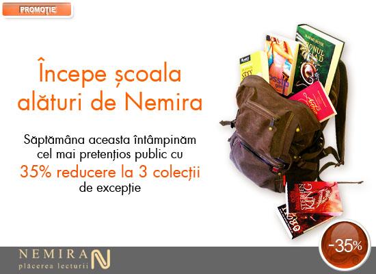 Începe școala alături de Nemira!