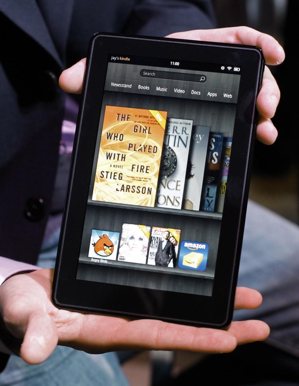 Kindle Fire, cel mai popular e-book reader