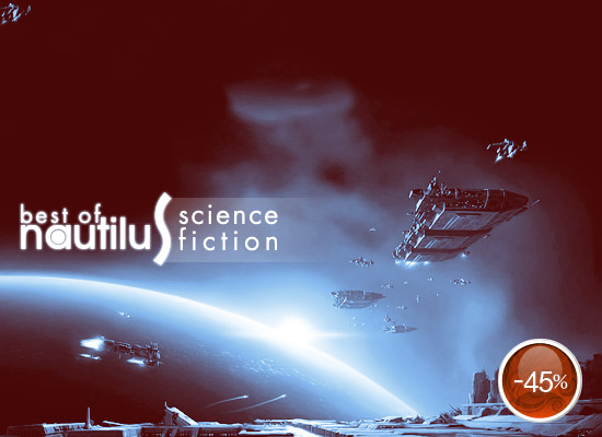 Cele mai bune cărţi de science fiction ale colecţiei Nautilus, la reducere de 45%