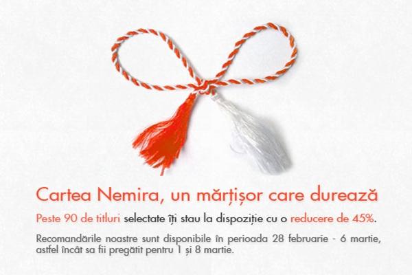 Cartea Nemira, un mărţisor care durează!