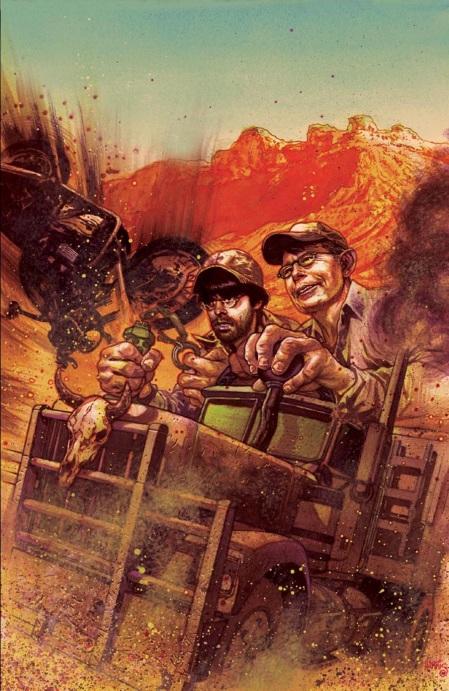 Stephen King lansează împreună cu fiul său o serie de benzi desenate