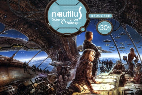 Reduceri de minim 30% pentru toate titlurile colecţiei Nautilus!