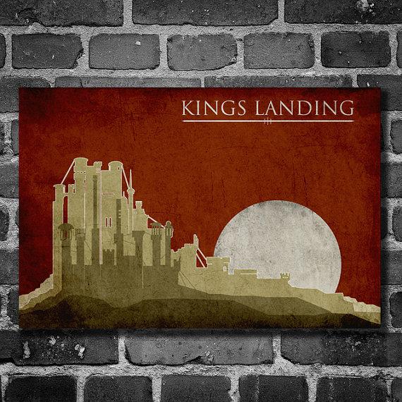 Descoperă postere de călătorie în ţinutul Westeros din Urzeala Tronurilor!
