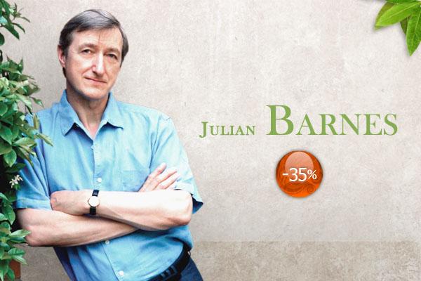 Cele mai noi cărți de Julian Barnes, acum cu reducere de 35%