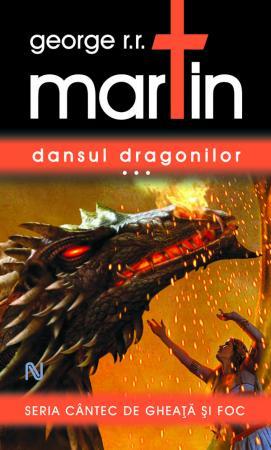 """""""Dansul dragonilor"""" paperback poate fi precomandată cu 30% reducere până la 1 august"""