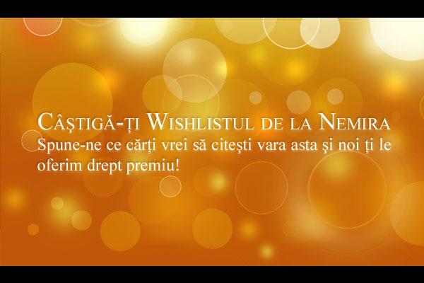 """Concursul """"Câştigă-ţi wishlist-ul de la Nemira"""" a ajuns la final"""