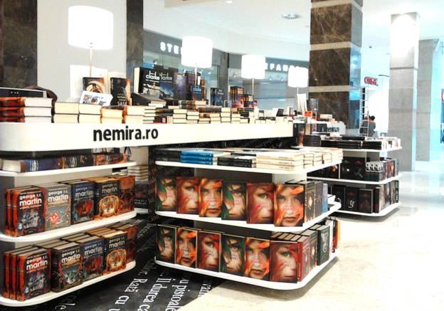 O nouă librărie Nemira! Unde? La Iaşi, în Palas Shopping Mall.