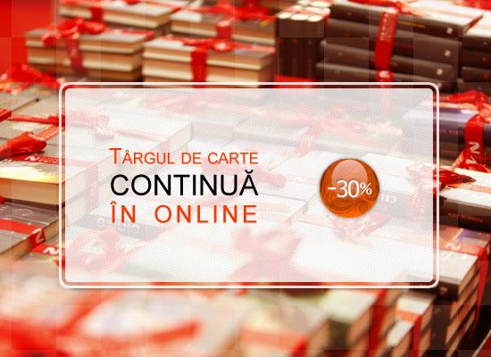 Târgul de carte continuă în librăria virtuală Nemira!