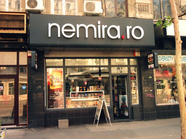 Librăria Nemira Magheru: o oază de răcoare