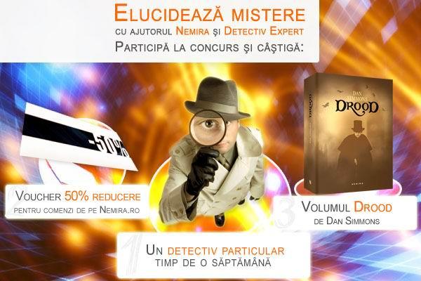 Concurs: un detectiv particular la dispoziţia ta