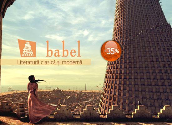 35% reducere la colecția Babel