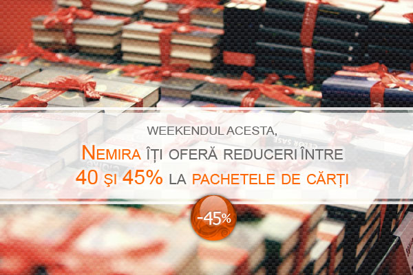 Pachete de cărți cu reducere de până la 45%