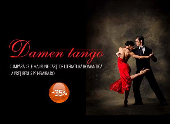 35% reducere la cărțile din colecția Damen Tango