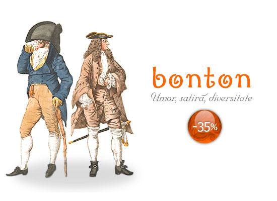 35% reducere la cărțile din colecția Bonton