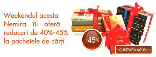 Pachete de cărți cu reducere de până la 50%