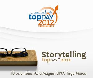 Nemira susţine Storytelling topDay 2012