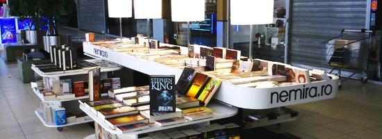 Librăria Nemira Băneasa Shopping City: la shopping de carte