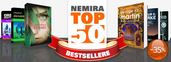 Promoţie Top 50 bestsellere Nemira