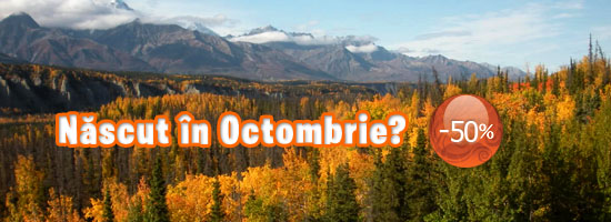 Încă o șansă pentru sărbătoriții lunii octombrie