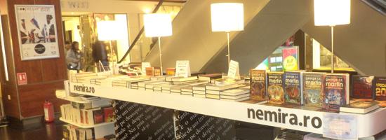 O poveste de succes! Nemira Mall Vitan – a opta şi cea mai nouă librărie Nemira