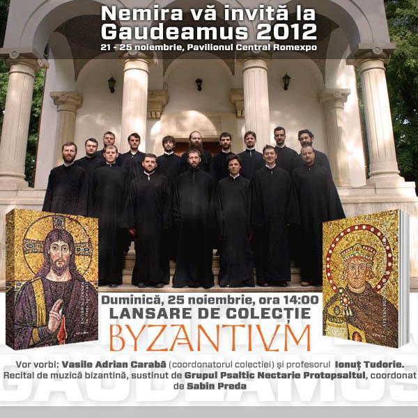 Lansare de colecţie Byzantivm la Gaudeamus