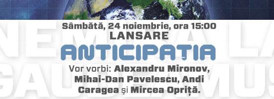Nemira lansează Almanahul Anticipaţia 2013 la Gaudeamus!