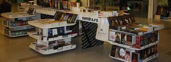 Librăria Nemira Iulius Mall Suceava: a noua şi cea mai nouă librărie Nemira
