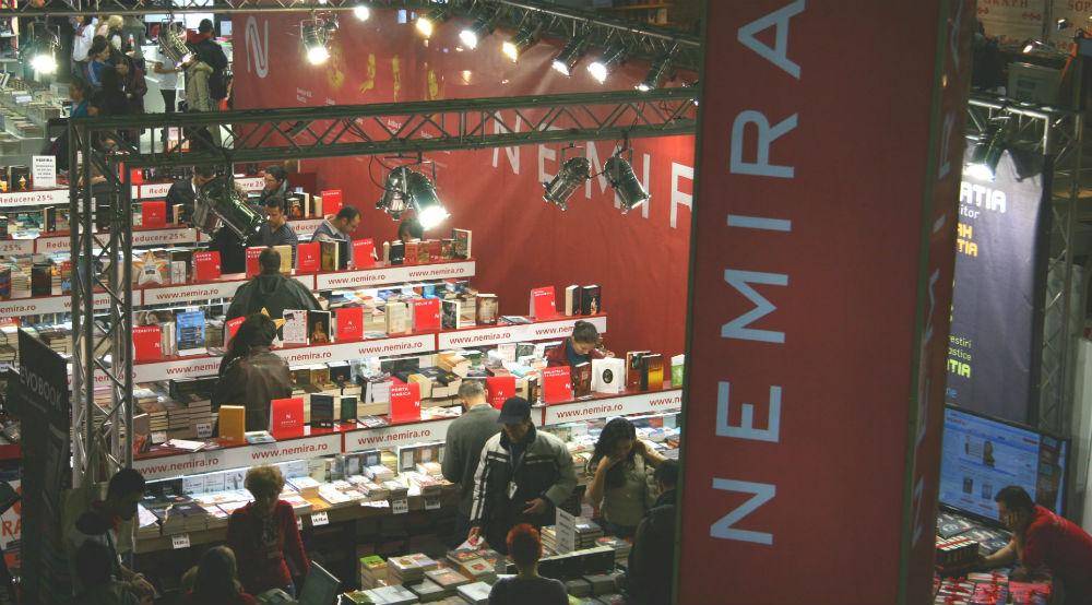 Cum au fost evenimentele Nemira la Târgul Gaudeamus 2012