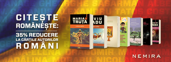 Citeşte româneşte! 35% reducere la autorii români